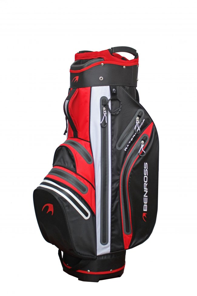 Waterproof Cart Bag – Red
